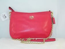 Coach Madsion Carriage Legacy Leather Crossbody Clutch/Small Purse #48515