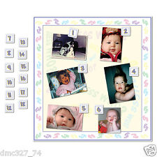 1 Baby Shower Party Game Who's That Baby GUESS WHO? Baby Picture Photo Game