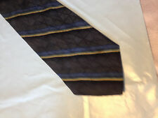 Mens Black Green Gold SILK Tie Necktie BILL BLASS~ FREE US SHIP (10961)