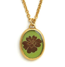 Maximal Art Necklace Flower Floral Gold John Wind Vintage Fashion Jewelry