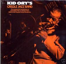 Kid Ory's Creole Jazz Band Folklyric 9008 SEALED LP 1944-5 transciptions