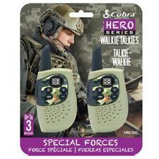 Cobra HM230G héros Militaire Armée Camo Kids 3 km talkie walkie Two Way Radio-Paire