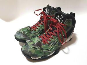 Li-ning Dwyane Wade Fission 1.5 Camo Size US 11.5 Basketball shoesABFK005-5
