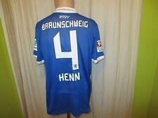 Eintracht Braunschweig Nike Matchworn Trikot 14/15 + Nr.4 Henn + Signiert Gr.L