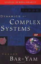 Dynamics Of Complex Systems (Studies in Nonlinearity), Bar-yam, Yaneer, Good Con