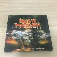 Vari -The Many Faces of Iron Maiden - 3 X CD Album digipak - 2016 Mexico RARE