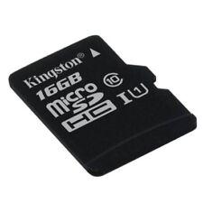 Tarjetas de memoria Kingston clase 10 para teléfonos móviles y PDAs con 16 GB de la tarjeta