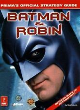 Batman and Robin : Prima's Official Strategy Guide by Nick Roberts (1998, Paper