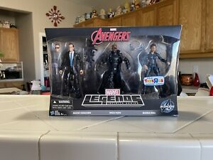 MARVEL LEGENDS Shield Agents MARIA HILL NICK FURY & AGENT COULSON TRU EXCLUSIVE