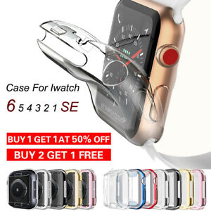 For iWatch Apple Watch 2/3/4/5/6/SE Protector Full Cover TPU Case 38/40/42/44mm