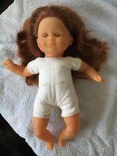 Corolle Puppe  mit Haaren und Schlafaugen