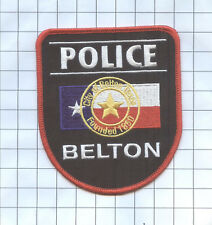 Police Patch -  Texas -City of Belton