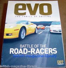 Evo Magazine 89 Corvette ZO6 v Lotus Exige Cup v Porsche 996 GT3 RS v Noble M400