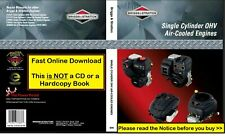 Briggs and Stratton 276781 Single Cylinder OHV Repair Service Workshop Manual