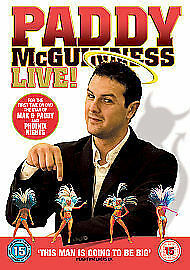 Paddy McGuinness - Live (DVD, 2006)