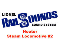 Lionel Hooter Steam RailSounds Sound System #2