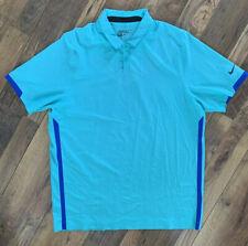 NIKE GOLF Polo Shirt Size XL GREEN   Tour Performance Smart Short Sleeve Dri-fit