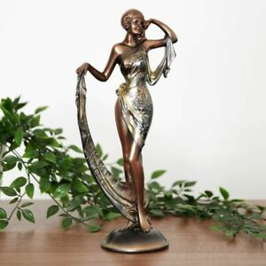 Art Deco Julianna Silhouette Collection Lady Figurine / Ornament.New.60506