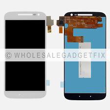 USA White Motorola Moto G4 LTE XT1625 Touch Screen Digitizer LCD Display Screen