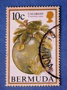 Bermuda. QE2 1994 10c Flowering Fruits. SG704A. Wmk Ww14. P14. Used.