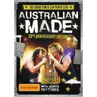 Australian Made 30th Anniversary Edition Various Artists DVD Region 4 PAL NEW