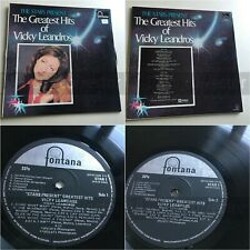 F47 VICKY LEANDROS Greatest hits LP South Africa Rita Pavone John Lennon covers