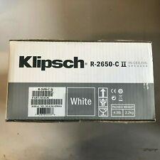 Klipsch R-2650-C II In-ceiling In-wall speaker Brand new sealed (Single piece)