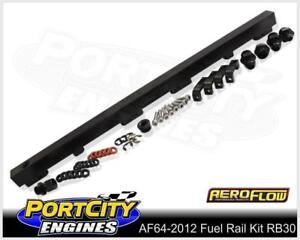 Aeroflow Alloy EFI Fuel Rail Kit Nissan 6cyl RB30E Skyline Holden VL AF64-2012