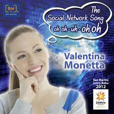 CD PROMO SINGLE EUROVISION SAN MARINO 2012 VALENTINA MONETTA SOCIAL NETWORK