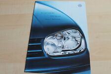 139423) VW Golf IV + Variant - Sport Edition - Prospekt 09/2000