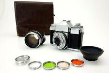 Zeiss Ikon CONTAFLEX Tessar 45mm f2,8 TELESKOP 1,7x 1285238 jr082