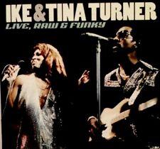 IKE & TINA TURNER - Live, Raw & Funky - CD Album - Acadia - ACAM 8205
