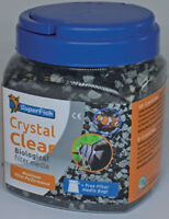 Superfish Crystal Clear 500ml Filter Media Carbon & Zeolite Fish Tank Aquarium