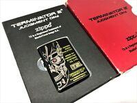 Rare! ZIPPO Limited Edition TERMINATOR 2 Judgement Day T2 Lighter w Box Black