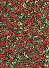 Sweet Melody Berries 1 Fat Quarter 100% cotton fabric quilt quilting home decor