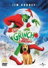 The Grinch DVD 2000 by Jim Carrey Jeffrey Tambor