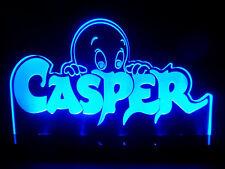 Casper the Friendly Ghost Led Lighted Desk Lamp Night Light Kids Rooms Cool Gift