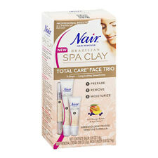 NEW Nair Brazilian Spa Clay Total Care Face Trio 1.35 Ounce