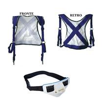 kit giubbotto + mini cintura renale combattimento pesca traina vertical jigging