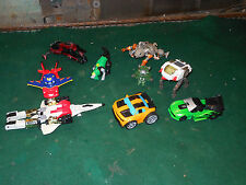 Vintage Lot of  HASBRO TAKARA Transformers 1980's Disney Pixar ETC... Japan