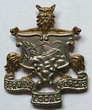 Bermuda Local Forces Badge Colonial Commonwealth West Indies