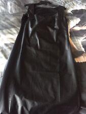 Black Pvc Fitted Dress