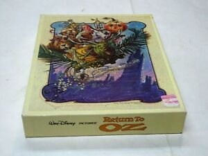 RARE Vintage Sealed 1985 Walt Disney Pictures Return to Oz Puzzle* MIB NEW