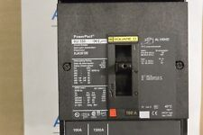 Square D Hja36100 Hj150 3P 600V 100 Amp I Line Circuit Breaker - New No Box