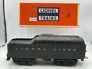 Lionel 2671W Whistle Tender w Backup Lights Beautiful Original Condition