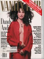 Vanity Fair March 1993 Vernon Jordan Dandy Andie Lynn Barber 092118AME