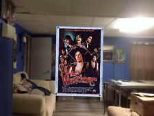 HUGE! 45x31 the WARRIORS Vinyl Banner Poster the sopranos. scarface movie ART 1