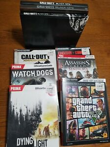 Various Gaming Guides And Strategy Manuals