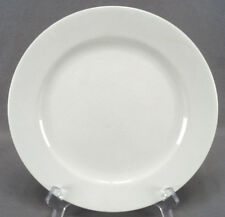 Set of 3 John Edwards White Ironstone Dinner Plates Circa 1880 - 1900
