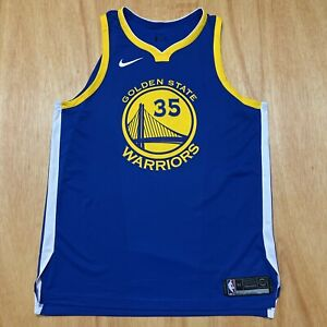 100% Authentic Kevin Durant Nike Warriors Icon Jersey Size 52 XL Mens
